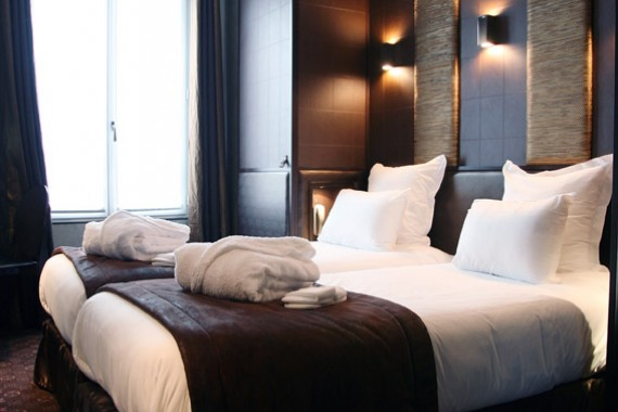 Rooms hotel L'Adresse Paris